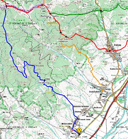 Turisticka Mapa Online Obec Melcice Lieskove
